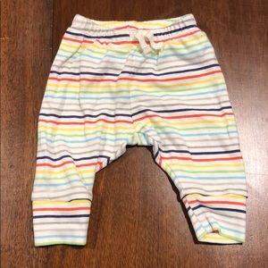 Baby Gap rainbow pants 0-3 months